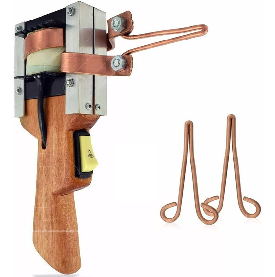 Ferro Solda Pistola Estanhador Profissional 550wts 110v