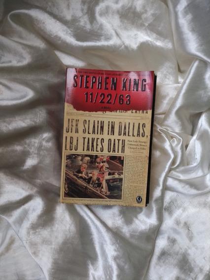 Livro 22/11/63 Stephen King Em Inglês (novembro De 63)