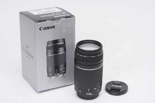Lente Canon 75-300 Nuevo