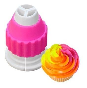 Cupla Tricolor Parpen Para Cupcakes