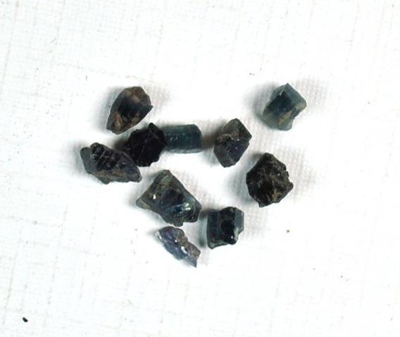 Safira - Bruta - 10 Unidades - Cod:fh54 - T.3 A 5.0mm