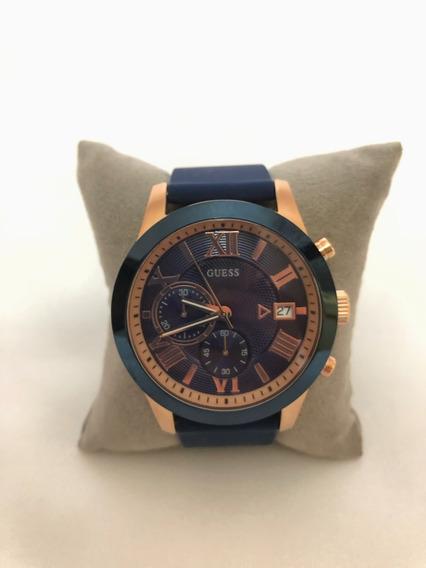 Relógio Masculino Guess - Cor: Azul Marinho - Tam: Único