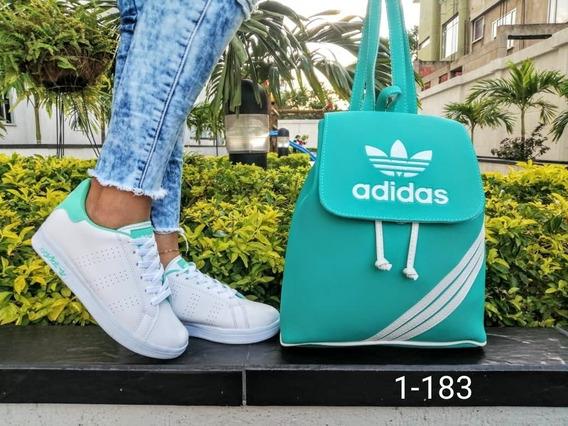 Zapatos Deportivos Para Damas Con Bolso