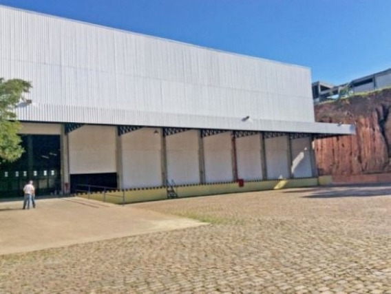 Galpão Com 10.600 M² Construção Em Jandira Sp - 268_aluguel