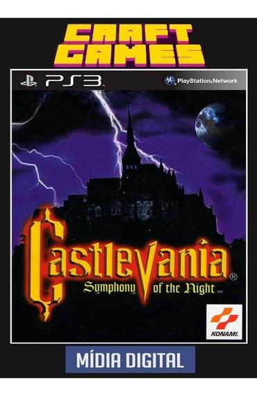 Castlevania Symphony Of The Night Ps3 Psn Envio Imediato