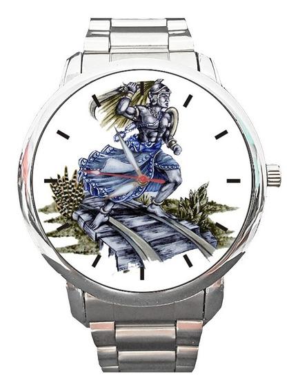 Kit 2 Peças - Relógio Personalizado Ogum