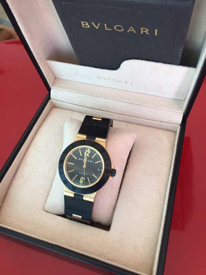 Reloj Bvlgari Diagono Oro Solido 18k Caja 38mm Full Set!