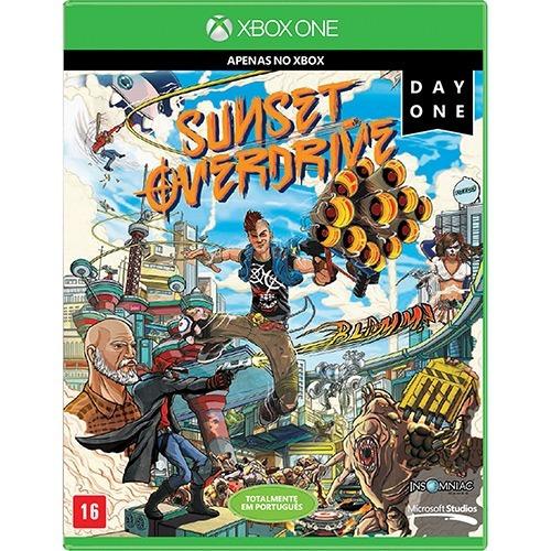 Sunset Overdrive - Xbox One Mída Física