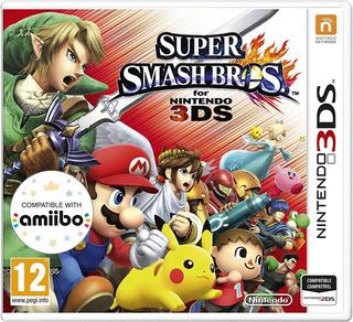 Juego Nintendo 3ds Smash Bros - Refurbished Fisico