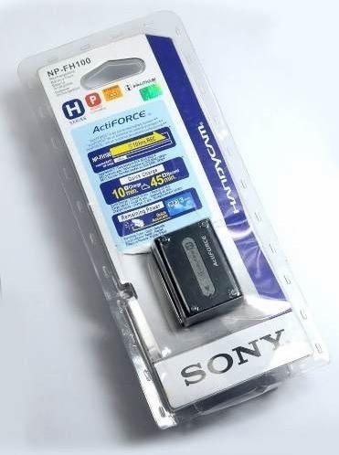 Bateria Sony Np-fh100 Original Xr520v Xr500v Xr200 Xr100 Ux7