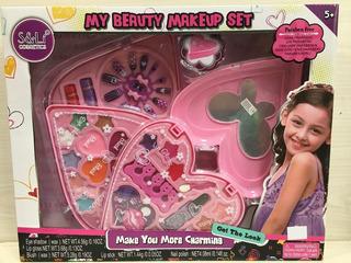 Set De Maquillaje My Beauty Makeup 3 Set Corazón
