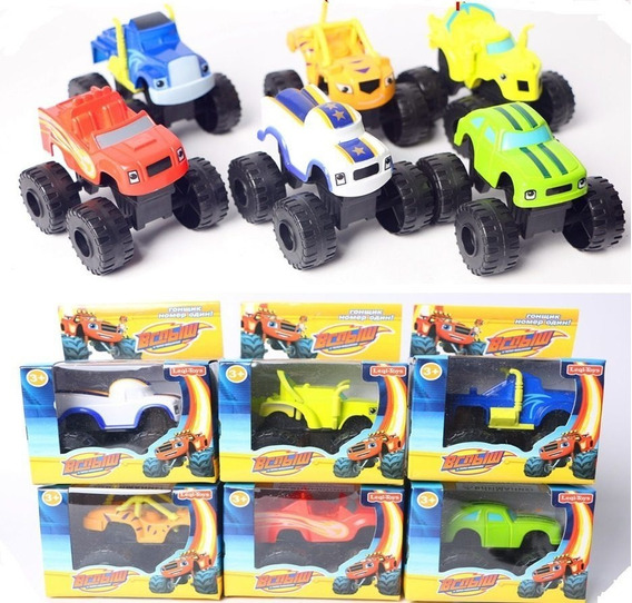 Blaze And The Monster Machines Crusher Pickle Stripes Zeg
