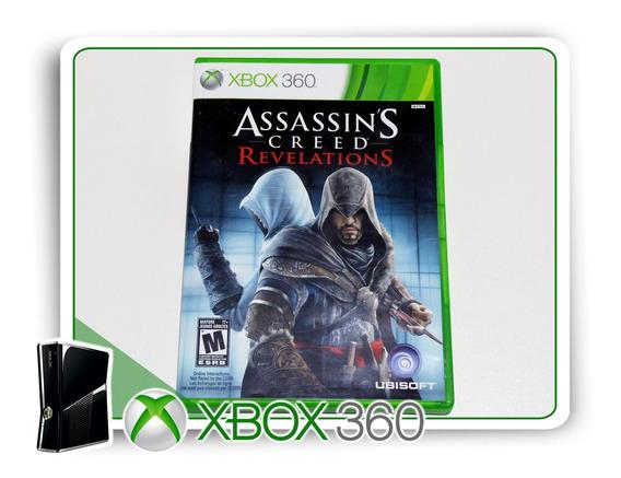 Assassins Creed Revelations Original Xbox 360 - Mídia Física