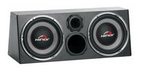 Caixa Amplificada Hinor Box 500w Trio 1500 Led Automotiva Pr