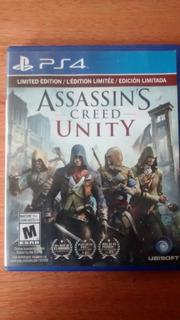 Juego Fisico Ps4 Assassin´s Creed Unity