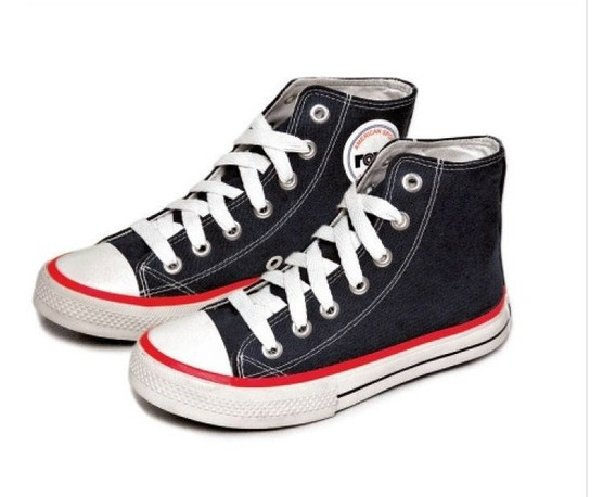 Zapatillas Rave Bota De Lona 34 Al 40