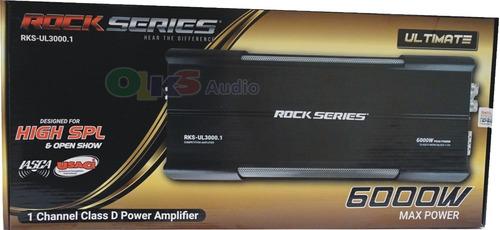Imagen 1 de 7 de Ampli Clase D Open Show Spl 6000w. Rock Series Rks-ul3000.1