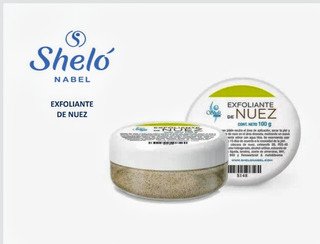 Exfoliante De Nuez Sheló Nabel (rostro Y Cuerpo)