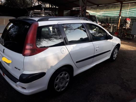 Peugeot 2006, Año 2005, 5 Puertas, Blanco