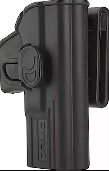 Funda Pistolera Tactica Cytac Nivel 2 P/ Glock 19 / 23 / 32