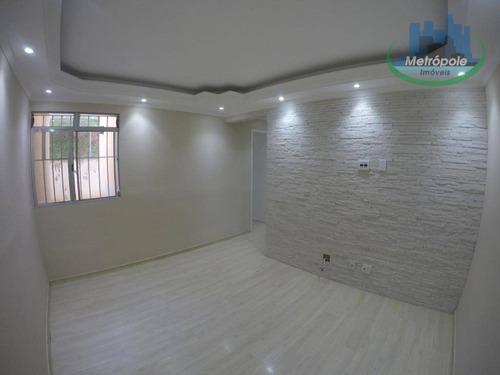Apartamento Com 2 Dormitórios À Venda, 55 M² Por R$ 220.000,00 - Jardim Odete - Guarulhos/sp - Ap1253