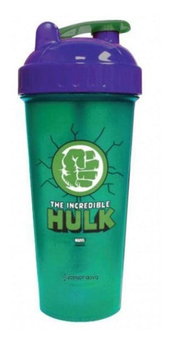 Shaker Fitness 600 Ml Hulk Geek