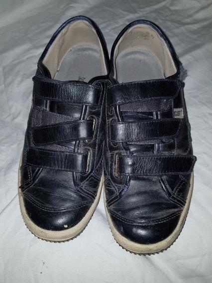 Cat Zapatillas Cuero
