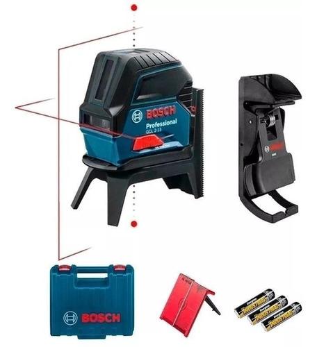 Kit Nivel Laser Base Rotativa Rm1 Maletin Bosch Gcl 2-15 Kit