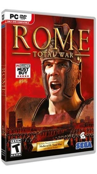 Rome Total War Gold Edition - Pc Dvd - Frete 8 Reais
