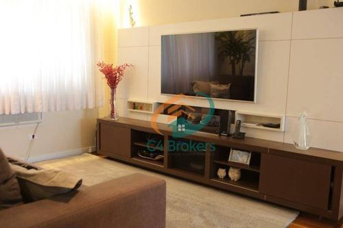 Apartamento Com 3 Dormitórios À Venda, 173 M² Por R$ 1.605.000,00 - Vila Mariana - São Paulo/sp - Ap3541