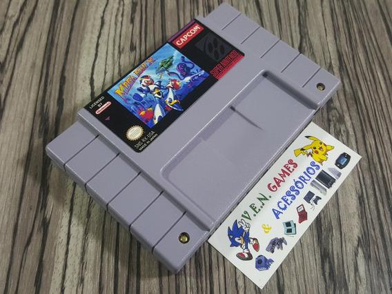 Mega Man X Original Repro Snes + Frete Gratis!!!!!!