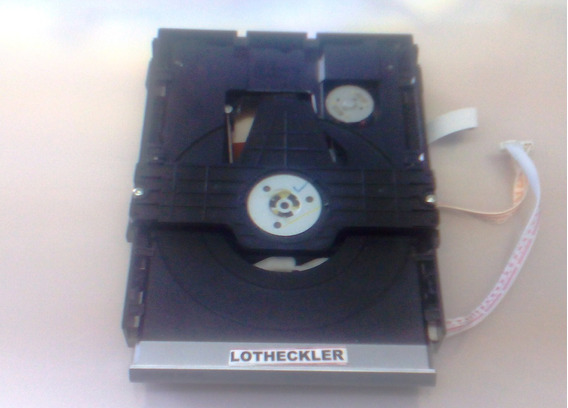 Leitor Óptico Com Mecanismo Completo Dvd Philips Dvp3254kmx/