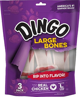 Dingo Cuero Crudo Huesos