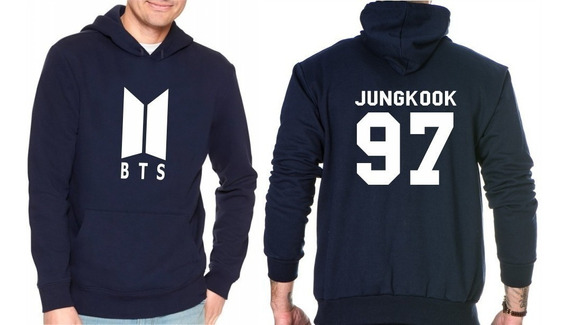 Blusa Moletom Casaco K-pop Bts Army Integrante Jung Kook 97