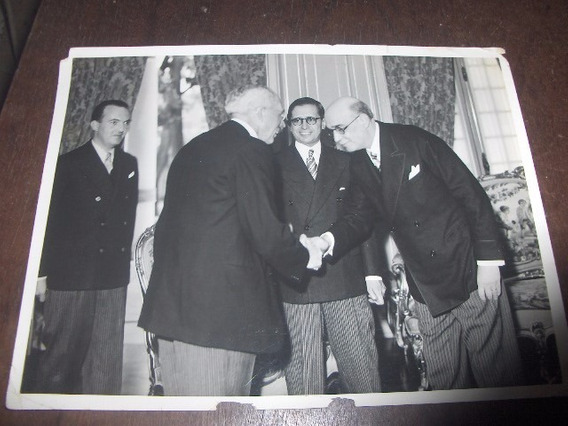 Foto Gov Cardozo De Mello Neto Missão Hollandeza 1957