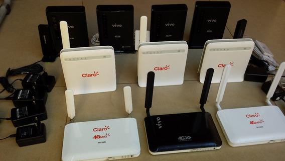 Modem E Roteador Wifi 4g ( Internet Móvel, Ônibus, Chaçara)