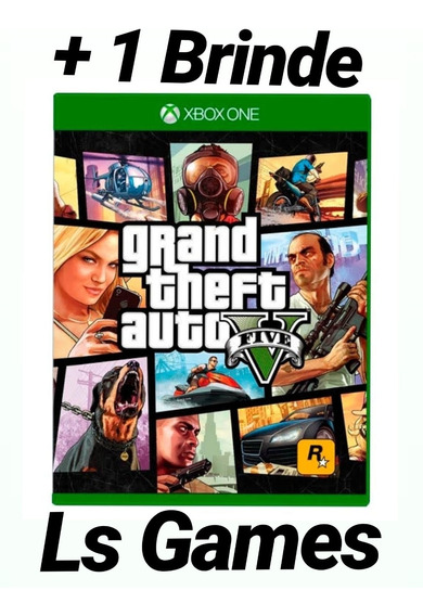 Gta V Midia Digital Xbox One + Brinde