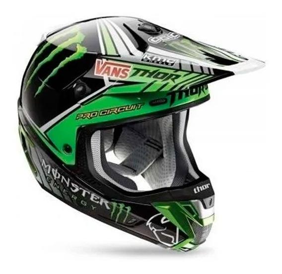 Capacete Motocross Trilha Thor Verge Pro Circuit