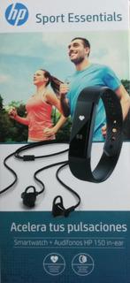 Smartwatch Y Audífonos Hp Sport Essentials