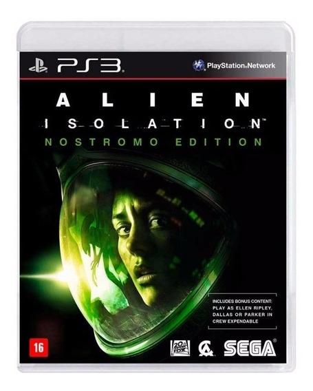 Alien Isolation Para Ps3! Jogo Original Lacrado Midia Física