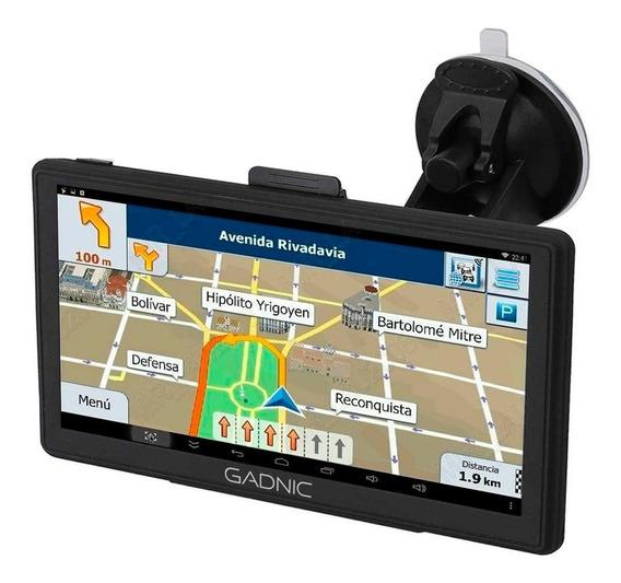 Gps Navegador 7 Pulgadas Igo Gadnic Bluetooth Windows 6