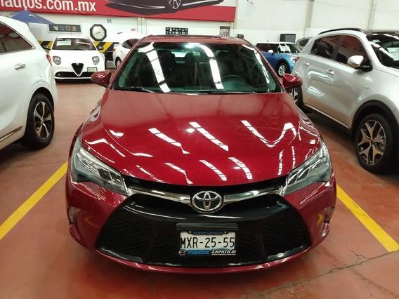 Toyota Camry Xse V6 Aut 2015 46000 Km Rojo 4 Puertas
