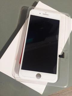 Tela 100% Original Apple iPhone 7 Plus Trincada Apenas Vidro
