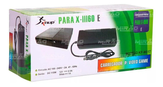 Fonte Xbox360 Super Slim Ac Adaptor 1 Pino