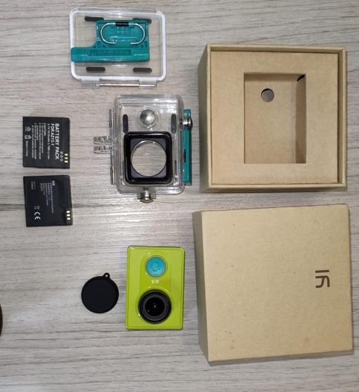 Xiaomi Yi Action Camera 16mp Duas Baterias Mais Acessórios