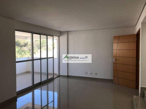 Imagem 1 de 15 de Cobertura Residencial À Venda, Nova Suíssa, Belo Horizonte - Co0179. - Co0179