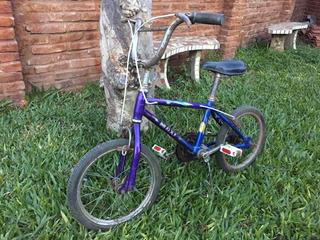 Bicicleta De Niño Rodado 14 Marca Maxi