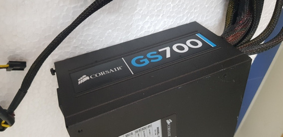 Fonte Corsair Gs700 700w Modelo Cmpsu-700g Perfeita E 100%