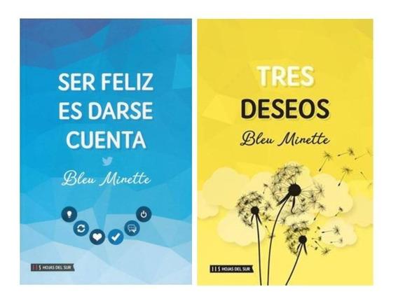 Pack Bleu Minette - Ser Feliz Es Darse Cuenta + Tres Deseos