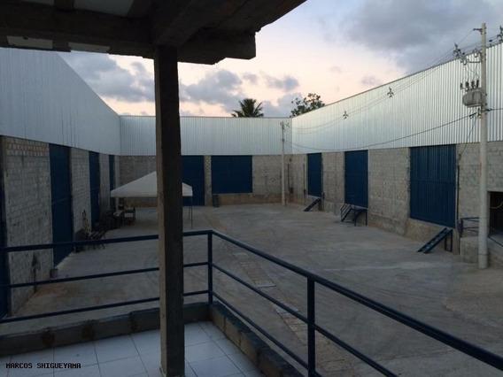 Galpão Para Locação Em Salvador, Areia Branca, 2 Banheiros, 4 Vagas - Vg2119